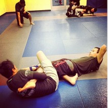 Straight Ankle Lock